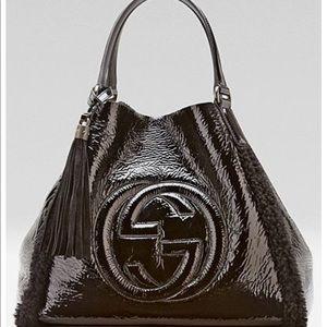 Gucci Soho Crushed leather bag